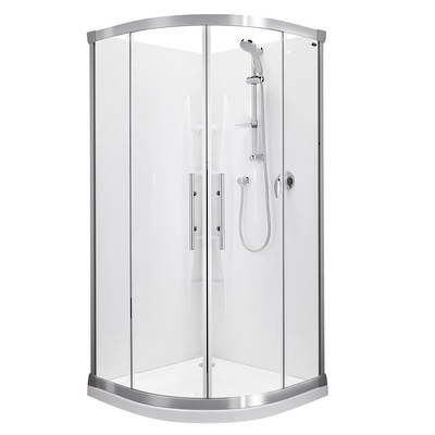 Valencia Round Sliding Shower 900x900mm