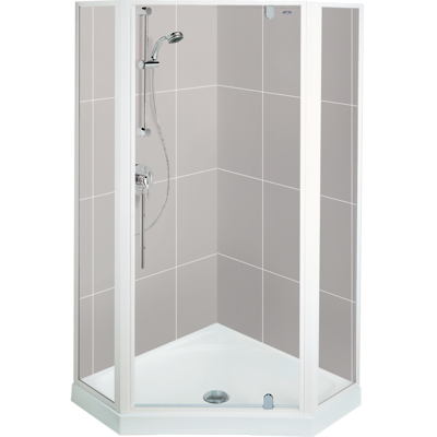 Valencia Angle Corner Shower 1000 x 1000mm