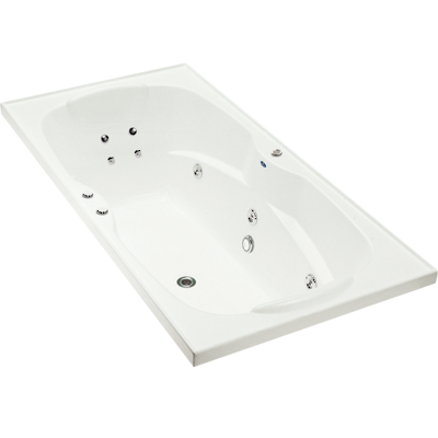 Sapphire Rectangular Spa Bath 2 Person