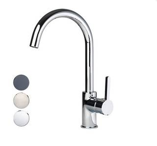 Studio Pin Lever Kitchen Mixer