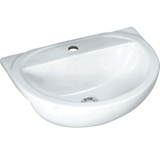 Milano Semi-recessed Round Basin