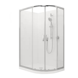 Valencia Elite Round-sliding Shower (1200mm x 900mm) - Order Only