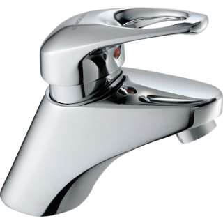 Cabriole Loop Single Lever Basin Mixer